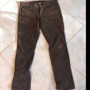 J. Crew Brown Corduroy Skinny Pants sz 30